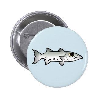 Cute Barracuda Pins