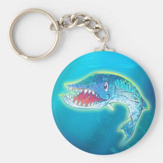 Cute Barracuda Keychain