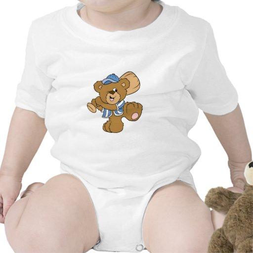 Cute Baseball Bear T-shirt