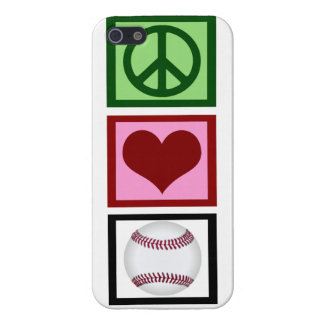 Cute Baseball Case For iPhone SE/5/5s