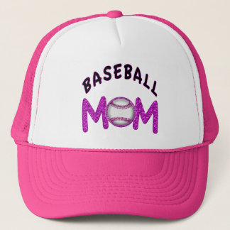 Cute Baseball Mom Hats in 12 Colors