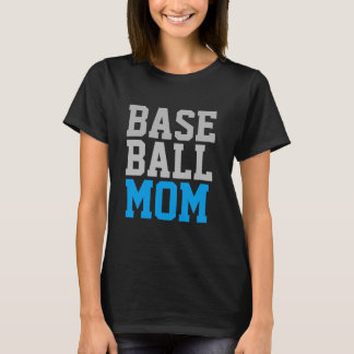 cute baseball mom tshirt design mother's day gift