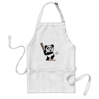 Cute Baseball Panda Apron