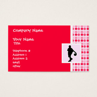 Cute Basketball Business Card