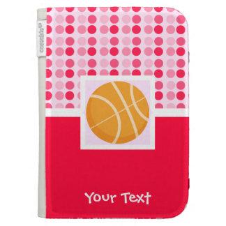 Cute Basketball Kindle Folio Cases