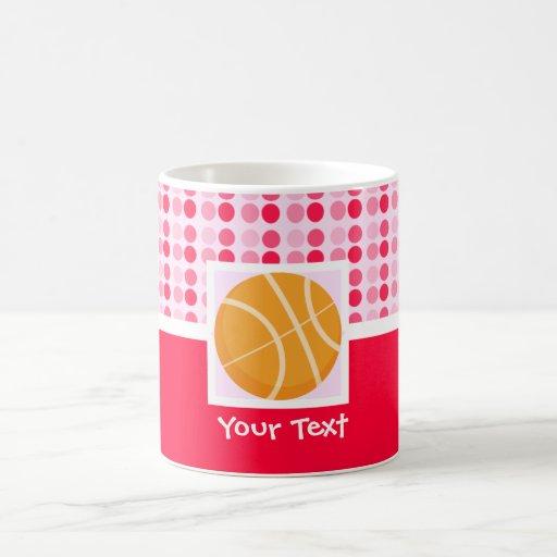 Cute Basketball Classic White Coffee Mug
