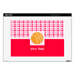 """Cute Basketball Decals For 15"""" Laptops"""