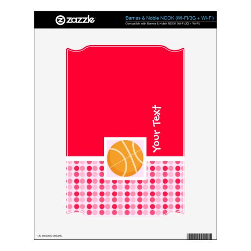 Cute Basketball Decals For The NOOK