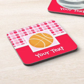 Cute Basketball Drink Coaster