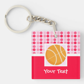 Cute Basketball Keychain