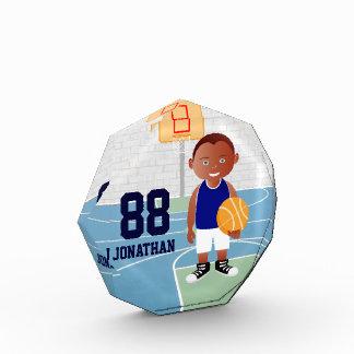 Cute Basketball player Acrylic Award