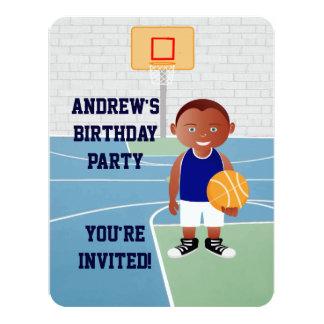 Cute Basketball Player Card