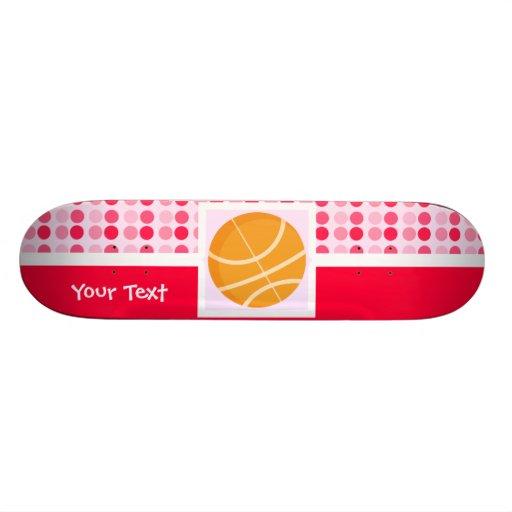 Cute Basketball Skate Board Deck