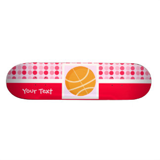 Cute Basketball Skateboard Deck