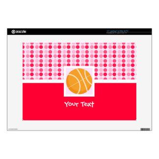 "Cute Basketball Skins For 15"" Laptops"