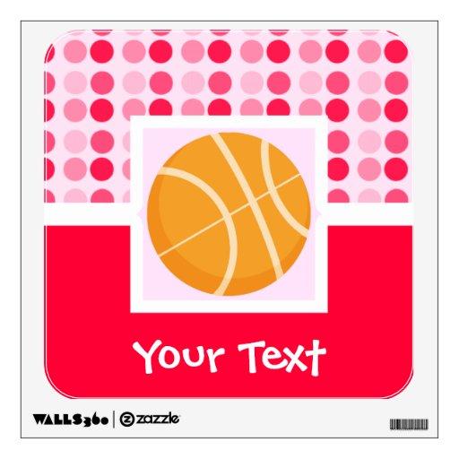 Cute Basketball Wall Stickers