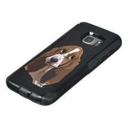 OtterBox Commuter Samsung Galaxy S7 Case with Basset Hound Phone Cases design