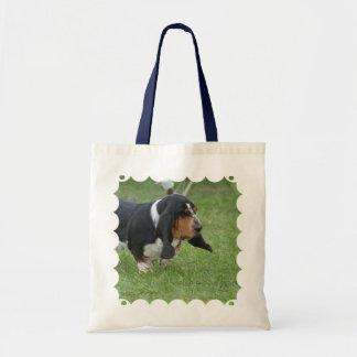 Cute Basset Hound Tote Bag