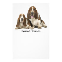 Cute Basset Hounds Flyer