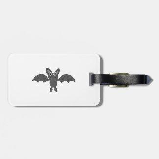 Cute bat bag tag
