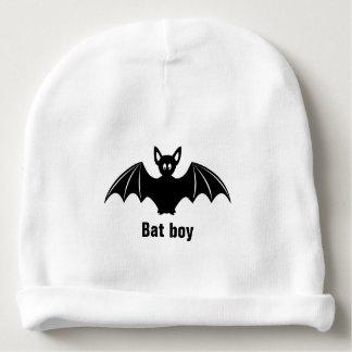 Cute bat cartoon pun joke baby beanie