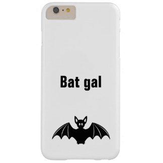 Cute bat cartoon pun joke girls barely there iPhone 6 plus case