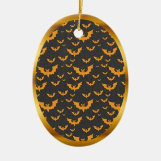 Cute Bat Halloween Ornament