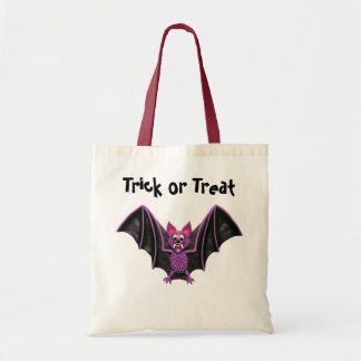 Cute Bat Halloween Party Budget Tote Bag