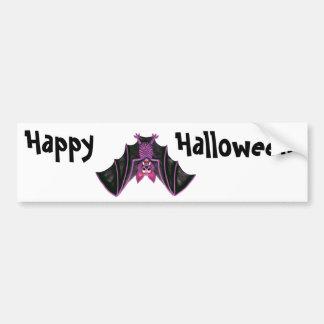 Cute Bat Halloween Party Bumper Sticker