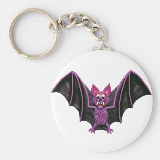 Cute Bat Halloween Party Keychain