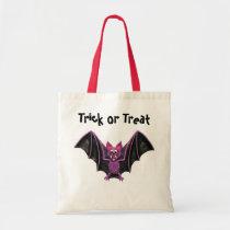 Cute Bat Halloween Party Tote Bag