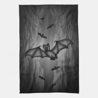 cute Bat Hand Towels