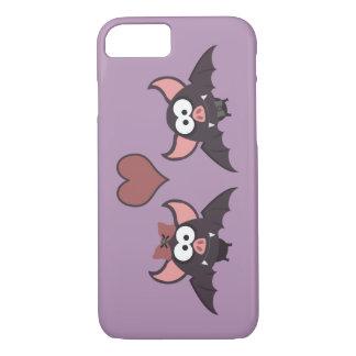 Cute Bat Love Desgin iPhone 8/7 Case