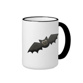 Cute Bat Ringer Coffee Mug