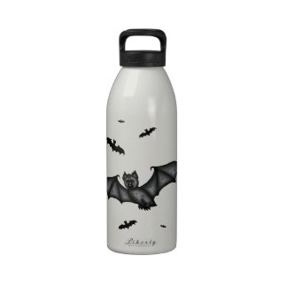 cute Bat Reusable Water Bottle
