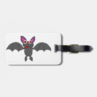 Cute bat tag for luggage