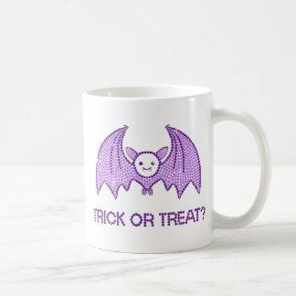 Cute Bat Trick or Treat Coffee Mug