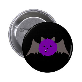 Cute Batty Pinback Button