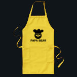 "Cute BBQ apron for dads | Papa Bear<br><div class=""desc"">Cute BBQ apron for dads 