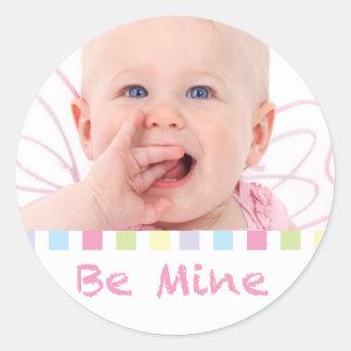 Cute Be Mine Photo Sticker