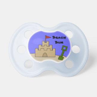 Cute Beach Bum Pacifier