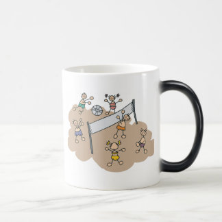 Cute Beach Volleyball Gift Magic Mug
