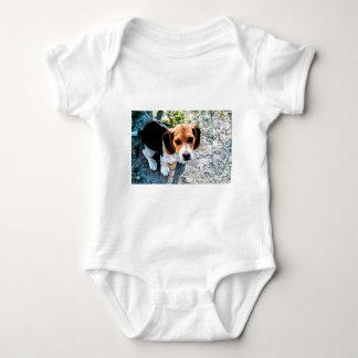 Cute Beagle Baby Bodysuit