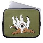 Cute Beagle Cartoon Dog Laptop Sleeve