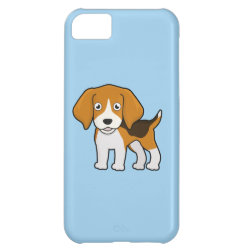 Cute Beagle Case For iPhone 5C