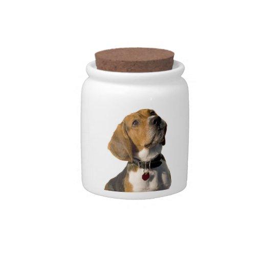 Cute Beagle Dog Candy Dishes