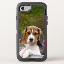 OtterBox Apple iPhone 7 Symmetry Case with Beagle Phone Cases design