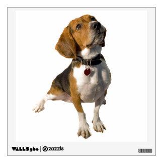Cute Beagle Dog Wall Decal