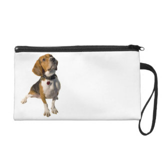 Cute Beagle Dog Wristlet