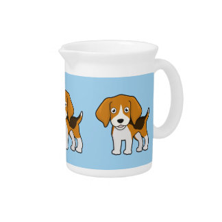 Cute Beagle Drink Pitchers